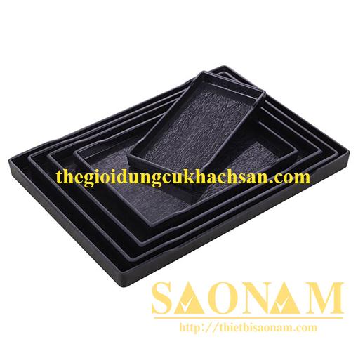 Khay Nhựa HCN ( vân gỗ sọc ) SN#524308